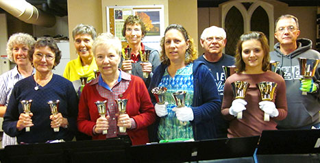 Handbell Choir at St. John's Episcopal