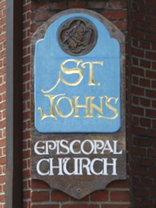 St. John's Episcopal Church Sign